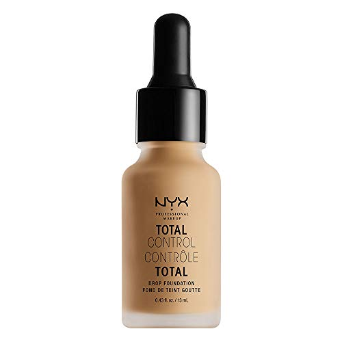 Nyx Professional Makeup Total Control Drop Foundation, True Beige, 0.43 Fluid Ounce