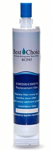 Price comparison product image Best Choice Water Filter Replacement For Whirlpool 4396508,  4396510,  EveryDrop EDR5RXD1 Filter 5,  NL240V,  WFL400,  PUR W10186668 Certified Refrigerator Cartridge (1-Pack)