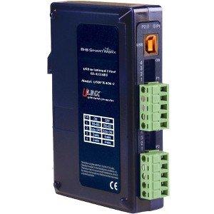 B+B Isolated USB to RS-422/485 Converter - 1 x Type B Female USB - 2 x Terminal Block Serial