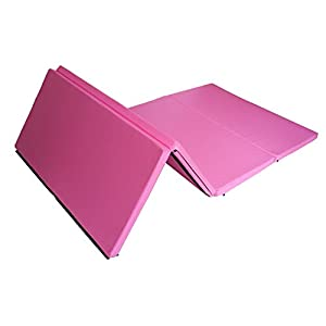 """5th Season 4'x8'x2""""Thick Floding Gymnastics Exercise Mats with Hook and Loop Fasteners For Gym Fitness"""