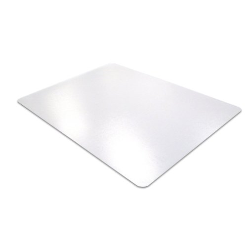 Cleartex Advantagemat Chair Mat for Carpets 1/4'' or Less, Clear PVC, Rectangular, Size 48'' x 60'' (FR1115225EV) by Floortex