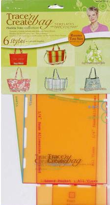 Trace 'N Create Bag Templates with Nancy Zieman: Florida Collection 9515 (6 Styles) ()