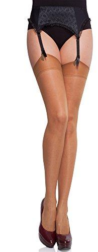 Merry Style Collant Autofixant Bas Transparent Lingerie Sexy Sous-vêtements Femme MS 226 15 DEN