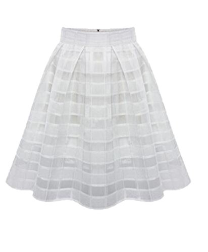 Jupe White Aoliait Court Line Fit Femelle Hipster Jupe Loisir A Jupe Jupe Femme Beau Plisse Skirt Slim Jupe Tulle ElGant qqHpnrEU1w