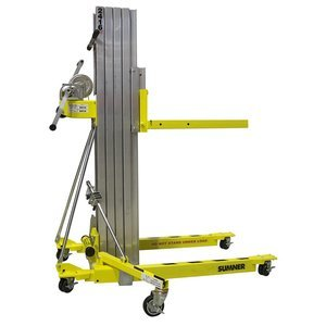 Sumner Manufacturing 784751 2416 Contractor Lift, 16' Height, 450 lb. Capacity