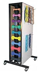 Cuff Weight & Dumbbell Storage Rack - Model 5161