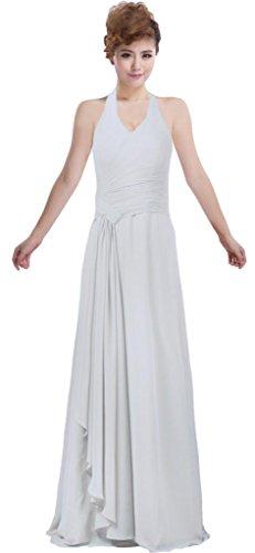 Robe De Bal Licol De Charme De La Gaine De Fourmis Femmes 2018 Robe De Soirée Dos Nu Blanche Plissée