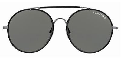 2dfed0c41eb7c Image Unavailable. Image not available for. Colour  Tom Ford Samuele Tf246  Black Gray Sunglasses