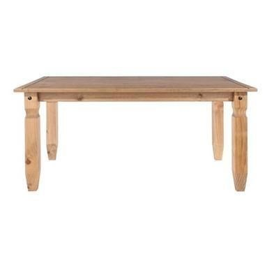 Corona Solid Pine Large Dining Table - 6ft