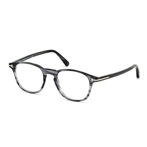 Tom Ford Montures de lunettes 5389 Shiny Black 020: Grey