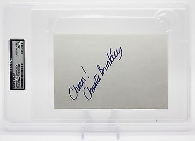 (CHRISTIE BRINKLEY SIGNED 4