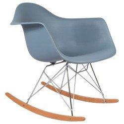 Charles Eames Rocking Chair RAR Schaukelstuhl, Schiefergrau