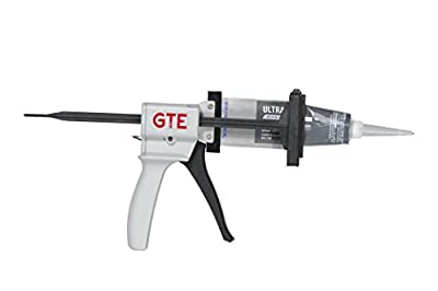 "GTE Tools MasterBead Professional Adhesive or Silicone Dispenser Gun for Aluminum Tubes up to 2.5"" Automatic Reload Smooth Trigger Action Highest Rated Dispenser Gun by Professional Technicians"