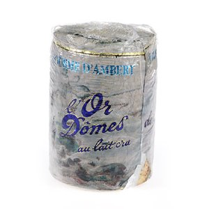 French Cheese Fourme D'Ambert Blue 1 lb. (Sampler Cheese French)