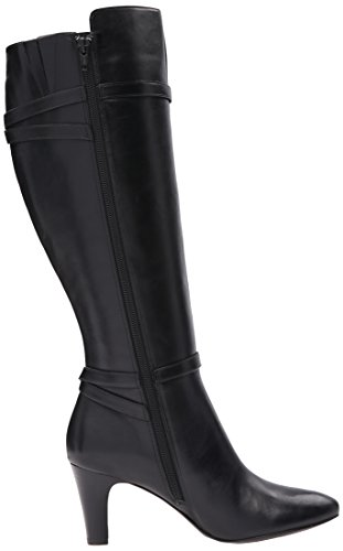 Lauren Black Bo w Women's Boot Lauren Sabeen Ralph DRS Cx8gwn15q