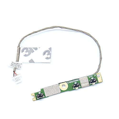 BAY Direct New Power Button Board Replacement for Dell Inspiron 5568 7568 7569 7778 7779 13 7368 5368 7378 3G1X1 450.07R0A.0002 Board 85GTT ()