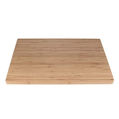 BambooMN Brand - Heavy Duty Premium Bamboo Cutting Board - 17.25