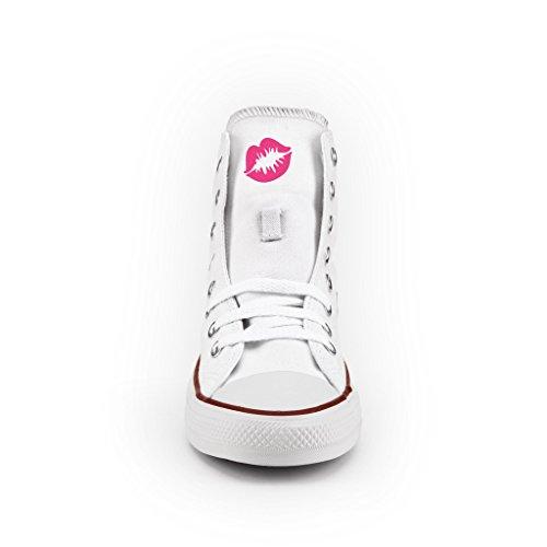 2b5fe323f8004 Converse Personalizzate con borchie All Star Alta - scarpe artigianali -  Leopardo Multicolor ...