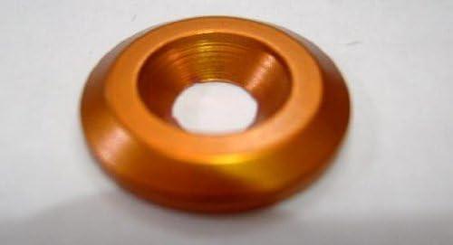 Pro-Bolt Alluminio Svasata Rondella M8/Arancione