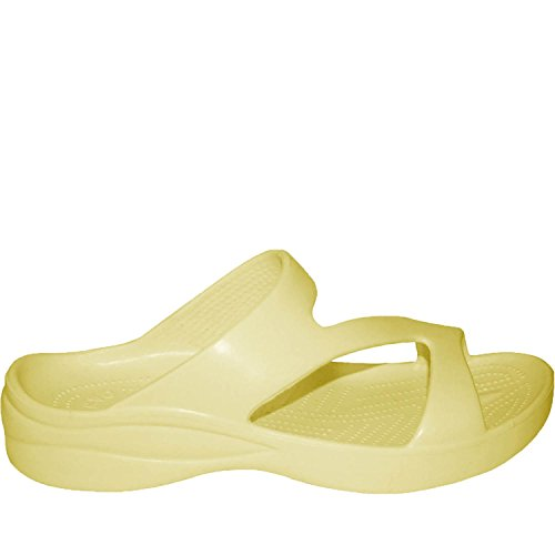 DAWGS Womens Arch Support Z Sandals Yellow gdMbC8bd7