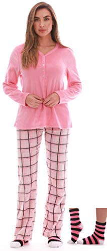 Just Love Henley Pants Set with Socks for Women 6732-10307-XL