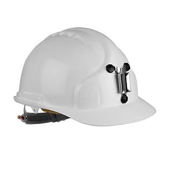 JSP AHM129-300-100 MK7 - Casco para mineros, color blanco: Amazon.es: Industria, empresas y ciencia
