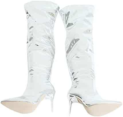 47c276c1fe3e8 Shopping Open Toe - Dress - Silver - Boots - Shoes - Women ...