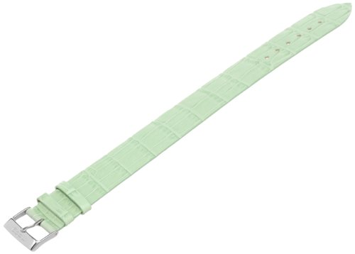 Moog Paris 18mm Leather Watch Strap, Color:Green (Model: CR-07)
