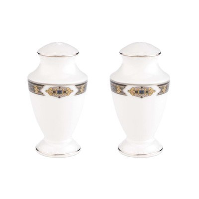 Vintage Jewel Salt and Pepper Shaker Set by Lenox