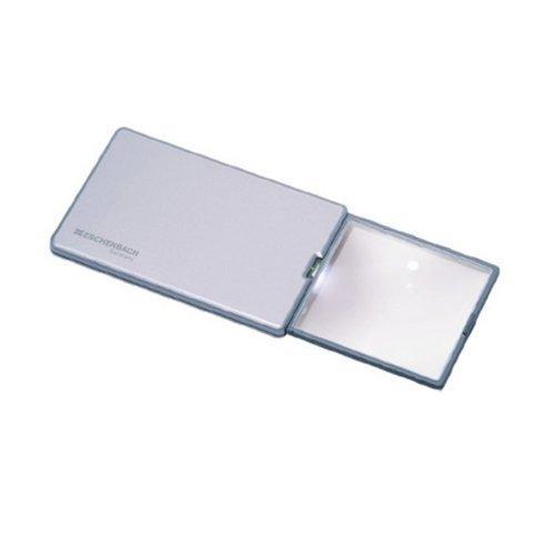 - 3X Eschenbach Square Compact Magnifier - 2 Inch Lens