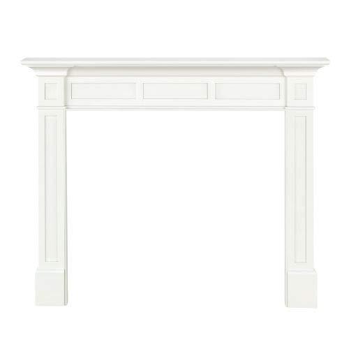 Pearl Mantels MDF Mantel, 56-Inch, White