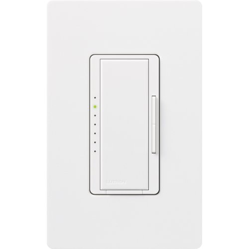 Lutron MAELV-600-WH 600-Watt Maestro Electronic Low Voltage Multi-Location Dimmer, White