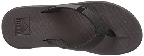 Reef Twinpin, Flip-Flop Uomo Black/Brown