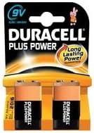 Duracell Mn1604 Plus Power 9 V 6lr61 K2 Pack Of 2 Elektronik