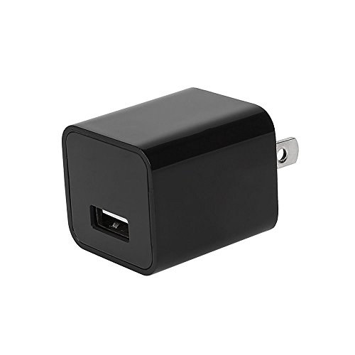 Infina Spy Camera Charger - 1080P Hidden AC Adapter Nanny Cam - Discreet Video Recorder (8GB Micro SD Included, Support up to 32 GB)