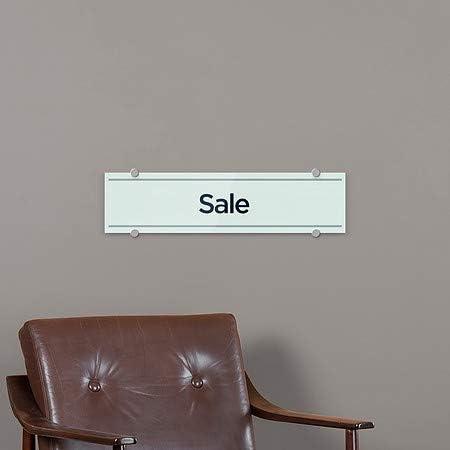 CGSignLab 5-Pack Basic Teal Premium Brushed Aluminum Sign 24x6 Sale