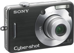 Sony Cyber-shot DSC-W50 6MP Digital Camera with 3x Optical Z