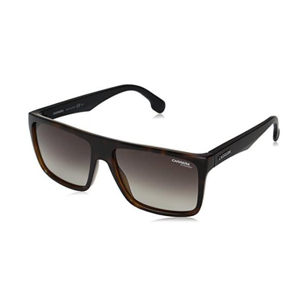 Carrera Men's Ca5039s CA5039S Rectangular Sunglasses, HAVANA MATTE BLACK/BROWN...