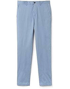 Lacoste Men's Men's Light Blue Chino Pants in Size W33 (42 EU) Blue