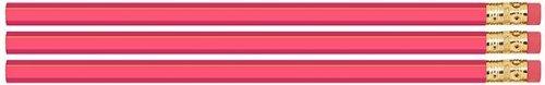 Pink Hexagon #2 Pencil, Eraser. 36 Pack. Express Pencils