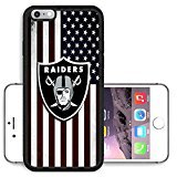 iPhone 5 Case, iPhone 5S Case, iPhone SE Cases, Raiders Logo 27 Drop Protection Never Fade Anti Slip Scratchproof Black Soft Rubber (Iphone 5 Cases Spike)