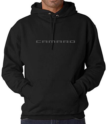 Chevy Camaro Hoodie Pullover/Sweatshirt/T-Shirt Unisex (Black Hoodie, Large)
