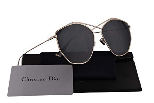 Christian DiorStellaire4 Sunglasses Light Gold w/Grey Blue Lens 59mm 3YGIR Dior Stellaire4 DiorStellaire4/s DiorStellaire4s DiorStellaire 4