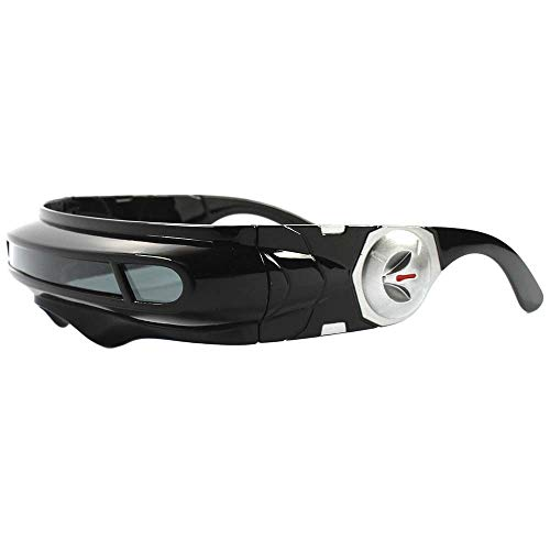 Party Rave Costume Cosplay X-Men Cyclops Wrap Visor Sun Glasses ()