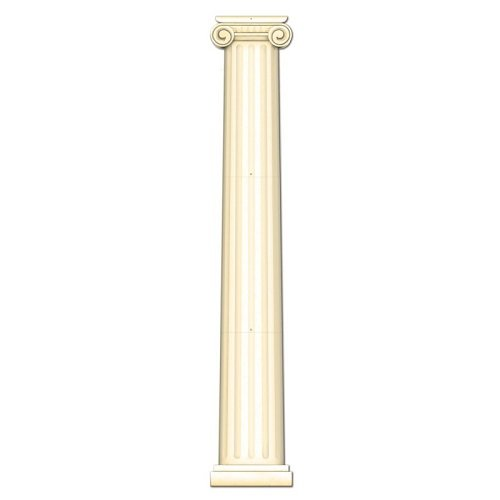 Jointed Column Pull-Down Cutout Party Accessory (1 count) (1/Pkg)