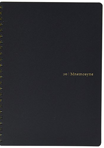 """UPC 787463791866, Maruman Mnemosyne Special Memo Notepad - A5 (5.8"""" X 8.3"""") - 7 mm Rule Divisions - 24 Lines X 80 Sheets"""