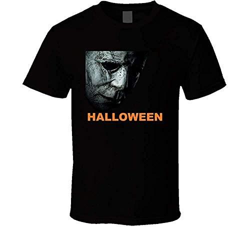 RDSMZ Halloween Movie T-Shirt Horror Michael Myers Carpenter]()