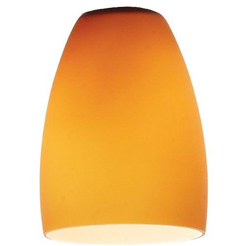 Replacement shades mini pendants amazon pearl pendant glass shade amber glass finish aloadofball Image collections