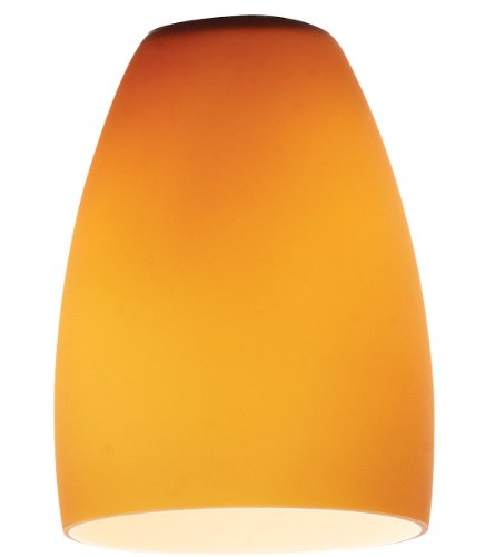 Pearl – Pendant Glass Shade – Amber Glass Finish