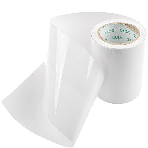 E Support™ KFZ Auto Lack Schutz Folie Meterware 150mm breit x 1500mm transparent Türkante Vinyl Blatt